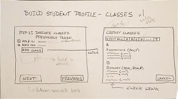 Everett Community College advisor portal sketch